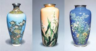 Blue Vase Story The Patient Beauty Of Japanese Cloisonné