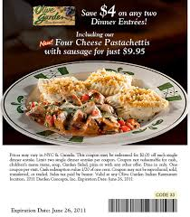 Printable Olive Garden Coupons Olive Garden Save 4 On Any Two Dinner Entrees With Coupon Nj Com