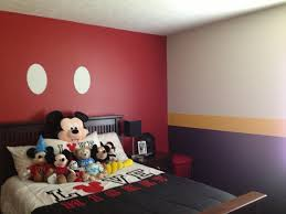 Mickey Mouse Nursery Curtains by Minnie Mouse Bedroom In A Box Mickey And Kissing Bedding Disney