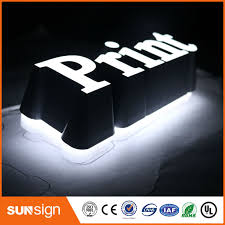 aliexpress com buy custom 3d sign letters outdoor double sided