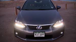 lexus ct200h vs bmw 1 2012 lexus ct 200h u2013 small efficient luxury with no competition