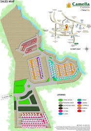 Camella Homes Drina Floor Plan by Carson Site Development Plan