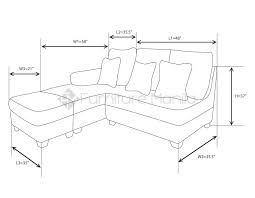 Couch Size Sectional Sofas U2013 Furniture Manila Philippines