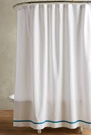Shower Curtains White Fabric White Fabric Shower Curtain Trend