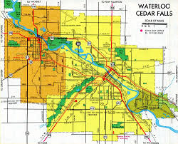 Map Of Iowa Towns Interstate Guide Interstate 380 Iowa