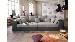 big sofa mit schlaffunktion und bettkasten big sofa wahlweise in xl oder yourhome de