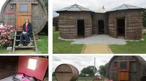 chambres d hotes originales des chambres d hôtes très insolites dans des tonneaux
