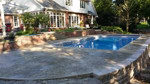 Pool Patio Pictures by Pool Decks And Patios Gallery Lasting Impressions Llc