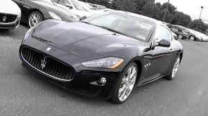 maserati granturismo 2015 black 2009 maserati granturismo s review youtube