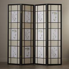4 panel chinese room divider med art home design posters