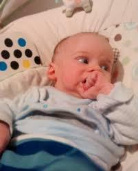 i think the newborn well 12 week baby is teething baby