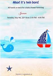 nautical themed baby shower ideas artful homesteader