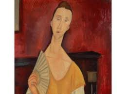 modigliani woman with a fan modern art masters stolen from paris museum artfixdaily news feed