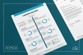 Resum Cv Resume Cv Murphy Resume Templates Creative Market