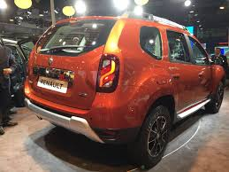 renault dacia duster 2017 renault duster facelift india price specifications amt details