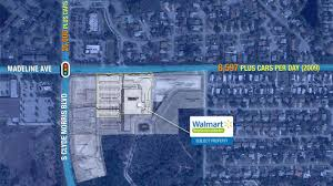 Walmart Map Walmart Retail 3811 S Clyde Morris Boulevard Port Orange Fl