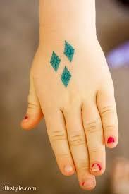 diy my little pony cutie mark temporary tattoos
