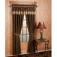 Fancy Window Curtains Ideas Classic Interior Decor Using Brown Fancy Curtains With Shade Also