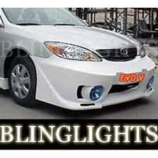2004 toyota camry lights 2002 2003 2004 2005 2006 toyota camry junbug body kit fog ls