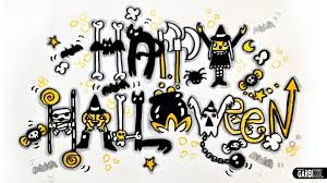 happy halloween image happy halloween how to draw scary and graffiti letters by garbi