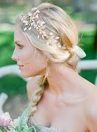 headband ponytail bridal headbands bridal headband with braided ponytail