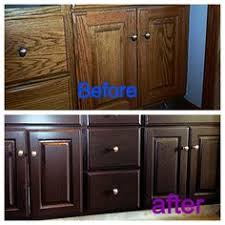 Before And After DIY Kitchen Makeover With Rustoleum Cabinet - Kitchen cabinet kit