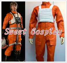 wars jumpsuit 2016 newest fancy wars x wing rebel fighter pilot orange