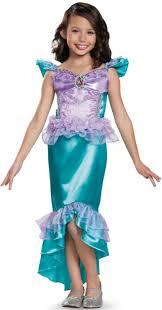 child u0027s girls disney classic ariel mermaid ball gown