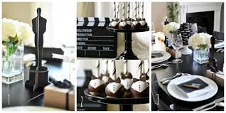 interior design simple black and white party themes and decor