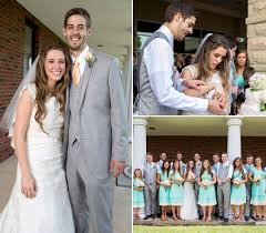 dillard bridal duggar and derick dillard s wedding album us weekly