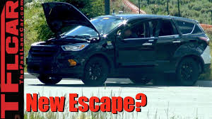 ford crossover escape 2019 ford escape prototype spied in the wild youtube