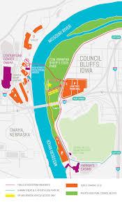 Omaha Nebraska Map Parking And Directions U2013 Loessfest 2017