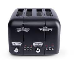 Cheapest Delonghi Toaster Buy De U0027longhi Argento 4 Slice Toaster Black At Argos Co Uk