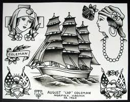 traditional nautical sailor tattoos meanings origins u0026 ideas
