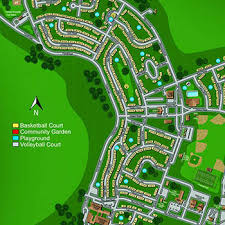 architectural site plan architectural site plan renderings map master plans visualization