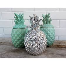 Pineapple Home Decor Homewares And Home Decor Online Pineapple Jar Metallic Silver
