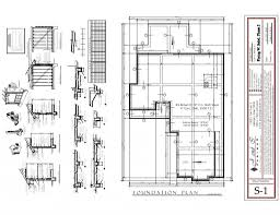 garage office plans sle house foundation plan plans for houses in drafting the