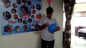 balloon decoration at home youtube