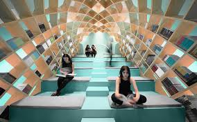 library design room to read in a digital world 14 modern library designs urbanist
