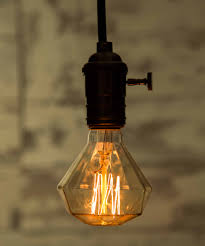 old fashioned light bulb for classy industrial interior feeling