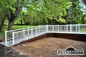 Decking Handrail Outdoor Lowes Handrails Composite Handrail Fiberon Railing