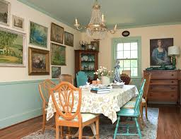 downton abbey influence cottage vintage country eclectic home