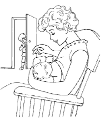 coloring pages baby girls u2013 art valla