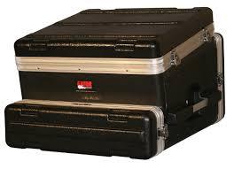 Wood Audio Rack Gator Cases Grc 10x2 10u Top X 2u Side Console Audio Rack