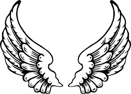 wings clip free vector in open office drawing svg svg