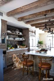 346 best kitchen design ideas images on pinterest kitchen dream an old wood kitchen with graphic black and white accents
