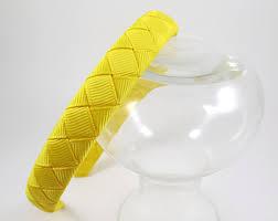 yellow headband yellow headbands etsy