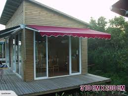 Yard Awning 3 1x 2m Waterproof Outdoor Patio Cover Yard Awning Retractable Sun