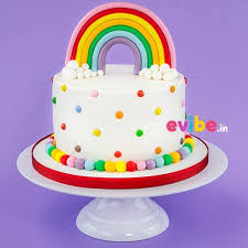 theme cakes order rainbow theme cake online birthday cake in