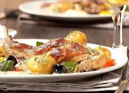 cuisiner un lapin au four lapin à la gueuze et grenailles au four colruyt